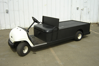 2-Passenger Flat Bed Golf Cart