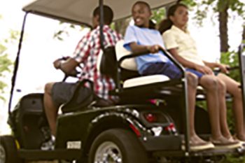 4-Passenger Golf Cart